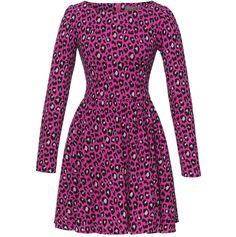 Lena Hoschek   Pink Leo Boogie Dress   Dollhouse Collection