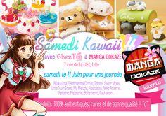 Stand mignon (Samedi kawaii à Lille dans Manga Dokaze) de notre boutique kawaii www.chezfee.com :D