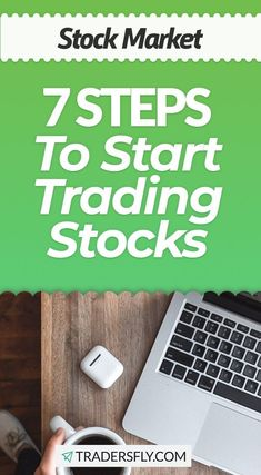 Stock Trading for Beginners - Check out these 7 steps to start trading stocks! Stock Market Investing, Investing In Stocks, Stock Market Basics, Dividend Stocks, Stock Charts, Knowledge And Wisdom, Educational Videos, Trading Strategies, Make More Money