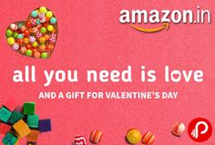 Amazon offers Valentine's Day Gifts bcoz all you need is love and a gift for Valentine's Day.  http://www.paisebachaoindia.com/valentines-day-gifts-valentine-gifts-online-amazon/