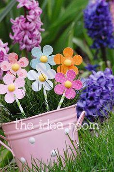 DIY Spring Paper Flowers