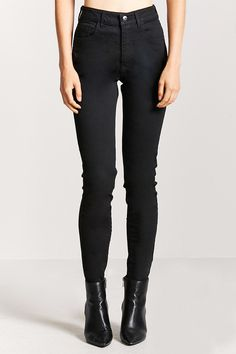 Product Name:High-Waist Skinny Jeans, Category:bottoms, Price:22.9