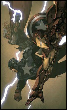The Avengers by Lenil Francis Yu