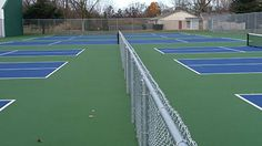 The Ford Lake Park Tennis Courts have been renovated and Pickleball Courts have also been added in 2016.