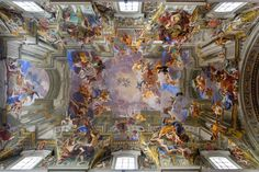 Los techos que se abren al cielo de la iglesia de San Ignacio de Loyola