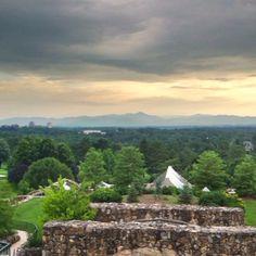 From the Grove park Inn terrace, Ashville, NC Visit Asheville, Ashville Nc, Grove Park Inn, Wake Forest, Biltmore Estate, Grand Hotel, North Carolina, Terrace, The Neighbourhood