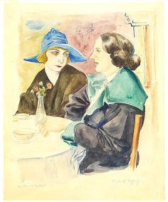 Rudolf Schlichter: Gruß aus Lesbos, um 1923