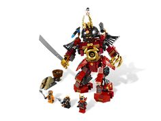 Lego Ninjago Samurai Mech  Send the Constrictai snakes flying with the awesome Samurai Mech!