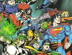 A History of DC Crossovers: The Dark Age