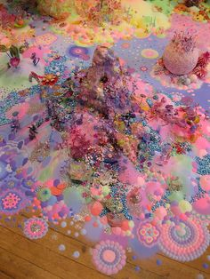 Sugar as art. Australian artist duo Nicole Andrijevic and Tanya… | Untitled Magazine