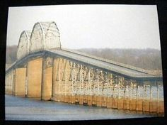 James Archambeault  /Bridge over Lake Barkley Cadiz, KY Postcard