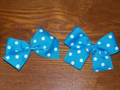 baby blue hairbows