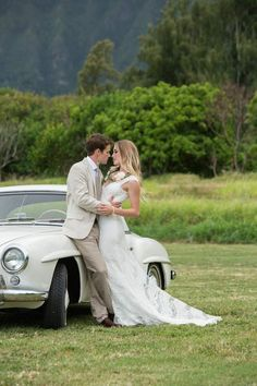 Vintage polo field wedding | Designs by Hemingway and Jeannemarie Photography | see more on: http://burnettsboards.com/2014/07/vintage-bohemian-polo-inspired-wedding-hawaii/