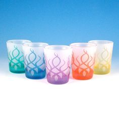 Hey, I found this really awesome Etsy listing at https://www.etsy.com/listing/14712261/shot-glasses-strands-set-of-5-frosted