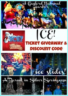 #Giveaway for tickets to ICE! at Gaylord National Harbor