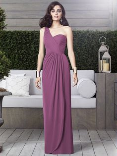 #radiantorchid  PANTONE Color of the Year 2014  BRIDESMAID DRESS BY DESSY