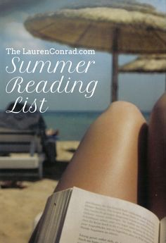 Good Reads: My Summer Reading List (Lauren Conrad) I Love Books, Great Books, Books To Read, My Books, Summer Reading Lists, I Love Reading, Thriller, This Is Your Life, Come Undone