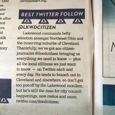 @LkwdCitizen voted 'Best Twitter to Follow' in Scene Magazine's Best of Cleveland 2015