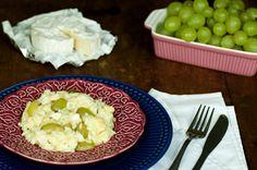 Destemperados - Para impressionar: risoto de queijo brie e uva