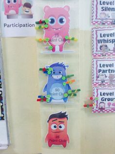 Our class dojo point peg This would be a great way for students to learn to save up for something they want. Kindergarten Classroom Management, Classroom Organisation, Kindergarten Fun, First Grade Classroom, New Classroom, Preschool Classroom, Class Dojo Rewards, Behavior Rewards, Class Dojo Growth Mindset