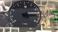 Ford Mondeo mk1/mk2 needle sweep (welcome ceremony, optical tuning)