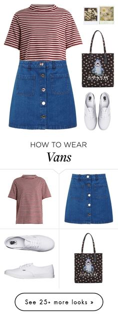 """Untitled #141"" by shoylove-1 on Polyvore featuring M.i.h Jeans, Miss Selfridge and Vans"