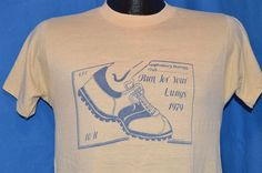 vintage 70s RUN FOR YOUR LUNGS RESPIRATORY THERAPY CLUB RUN 1979 t-shirt SMALL S #BoxTag #GraphicTee