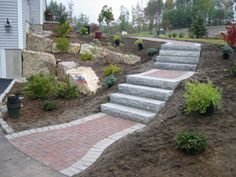 granite front stairs - Google Search
