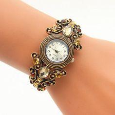 Luxury Brand Owl Fashion Women Bracelet Watch