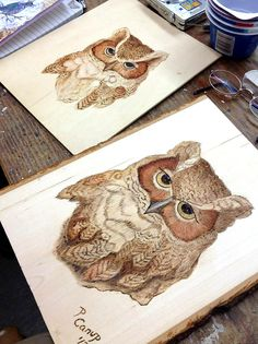 Woodburning | Woodburning ~ Orchid Davis March 3-9, 2013 www… | Flickr