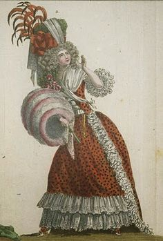 18th c. Leopard-Patterned Fashion