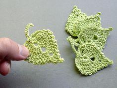 How to Crochet a Leaf | Crochet Flower