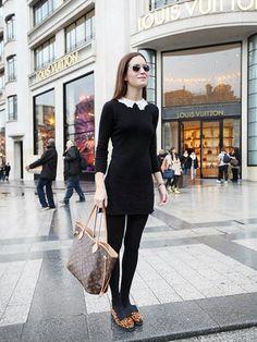 С чем одеть черное платье: фото и рекомендации стилистов