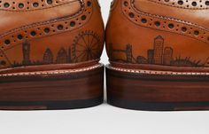 Oliver Sweeney Tattoo Shoes