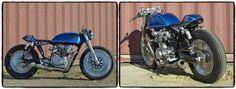 Honda CB750 Café Racer.