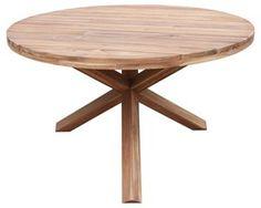 Stół okrągły ogrodowy ZEN 140x78 cm