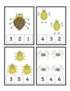 Fantastic Pictures preschool printables bugs Tips Don't you often question the way to have the funds for everything? Whether or not you choose Mont Preschool Centers, Preschool Lessons, Preschool Math, Kindergarten Math, Learning Numbers, Math Numbers, Spring Activities, Preschool Activities, Insect Crafts