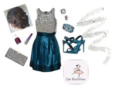 """""""night at the ballet"""" by kimg-phd ❤ liked on Polyvore featuring Topshop, Cynthia Rowley, Jimmy Choo, Essie, Kate Spade, Burberry, Honora and Urban Decay"""
