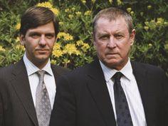 Still Of Jason Hughes And John Nettles In Midsomer Murders