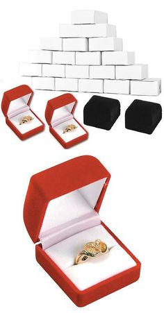 Jewelry Boxes 3820 Large Wood Watch Box Glass Top Jewelry Ring