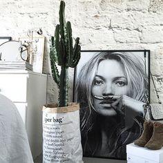 Kate Moss est � la maison ! ??  By @simple.form