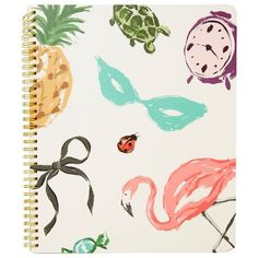 Kate Spade XL Spiral Ntbk NoveltyCouture ❤ liked on Polyvore featuring home, home decor, accessories, kate spade, kate spade notebook, spiral notebook and kate spade home decor