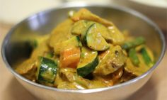 These curried sausages have a mild creamy sauce which is great if all the family are eating together. There is a good variety of vegetables in this. It is a great budget meal costing less than $10.