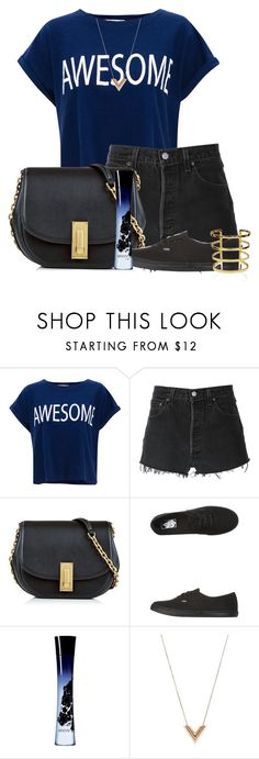 """Sem título #2388"" by carpe-diem96 ❤ liked on Polyvore featuring Pull&Bear, RE/DONE, Marc Jacobs, Vans, Giorgio Armani and Louis Vuitton"