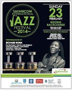 Safaricom International Jazz Festival at Ngong Racecourse