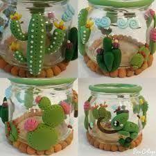 Crafts For Teens, Diy And Crafts, Clay Jar, Plant Crafts, Sculpey Clay, Cute Clay, Clay Animals, Polymer Clay Creations, Felt Diy