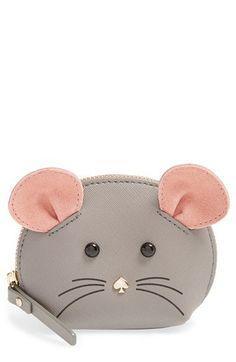 Kate Spade mouse coin purse