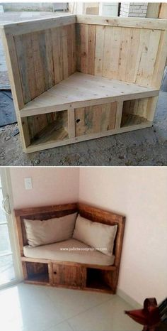 📣 34 Small Wood Projects Ideas How To Find The Best Woodworking Project For B. 📣 34 Small Wood Projects Ideas How To Find The Best Woodworking Project For Beginners 19 Wooden Pallet Projects, Wood Pallet Furniture, Wood Pallets, Diy Furniture, Pallet Wood, Recycled Pallets, Rustic Furniture, Antique Furniture, 1001 Pallets