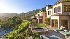 Stunning: Kelsey Grammer and ex-wife Camille have sold their Malibu estate for just under ...