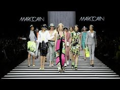 The Marc Cain Fashion Show Spring/Summer 2020 was held once again at the Fashion Week Berlin on July. The theme Colour In Motion was captured on- and off. Fashion Words, B Fashion, Fashion Story, Vintage Fashion, Fashion Design, High Fashion, Veronica, Caroline Winberg, Marc Cain